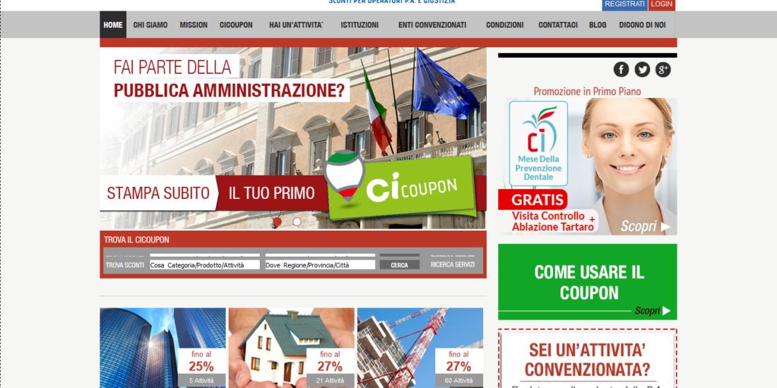 Convenzioni Istituzioni Web-site