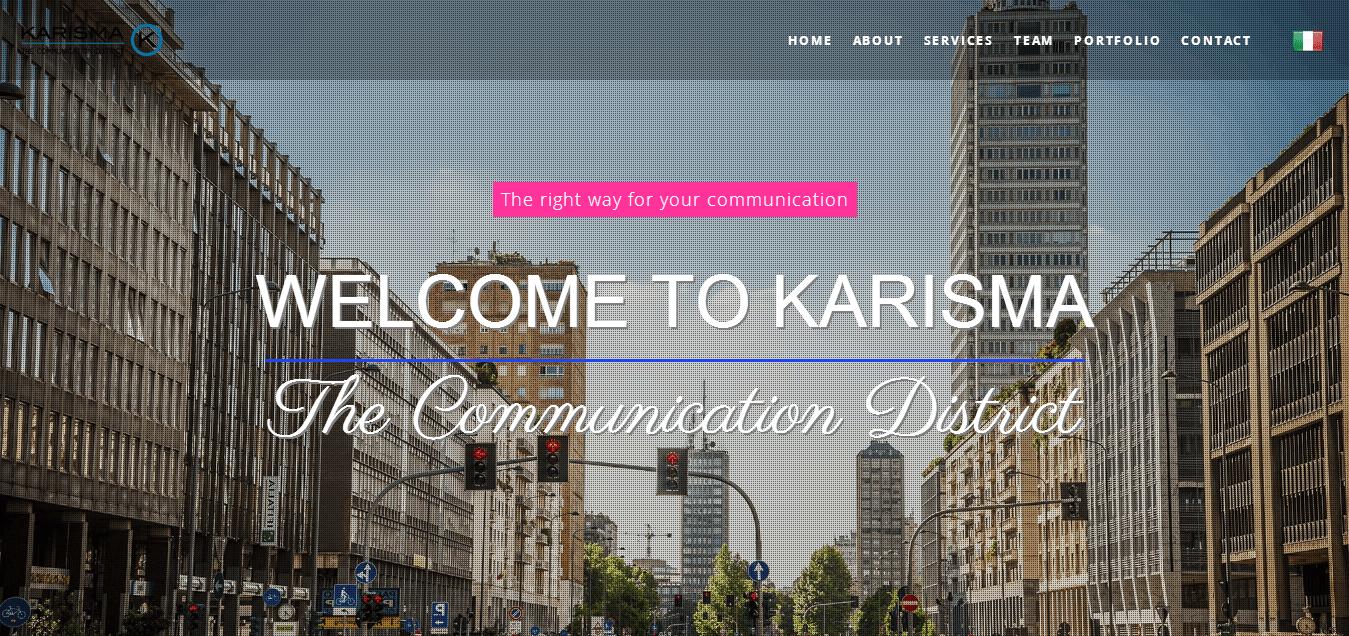 Karisma Web Site