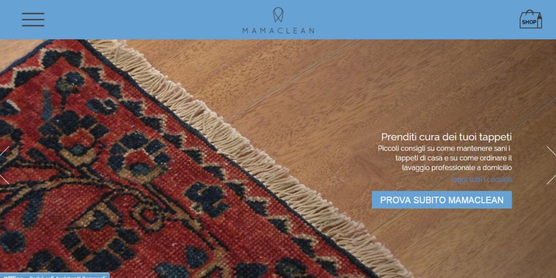 Mamaclean Web site