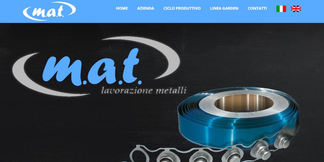Mat srl Web site