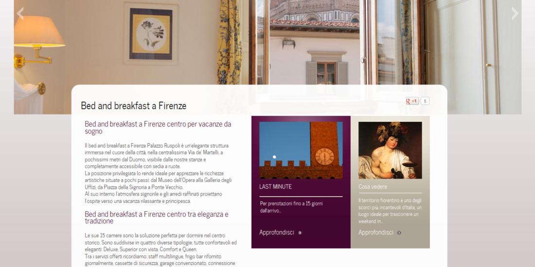 Palazzo Ruspoli Web site